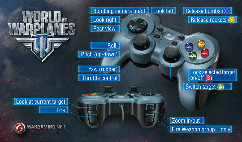 What Controllers Can I Use In The Game Wargaming Customer: Map World Of Tanks Pc To Controller At Slyspyder.com