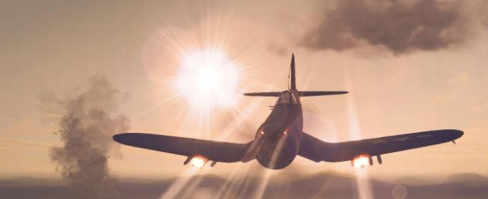 Куда делать развороты на самолете?