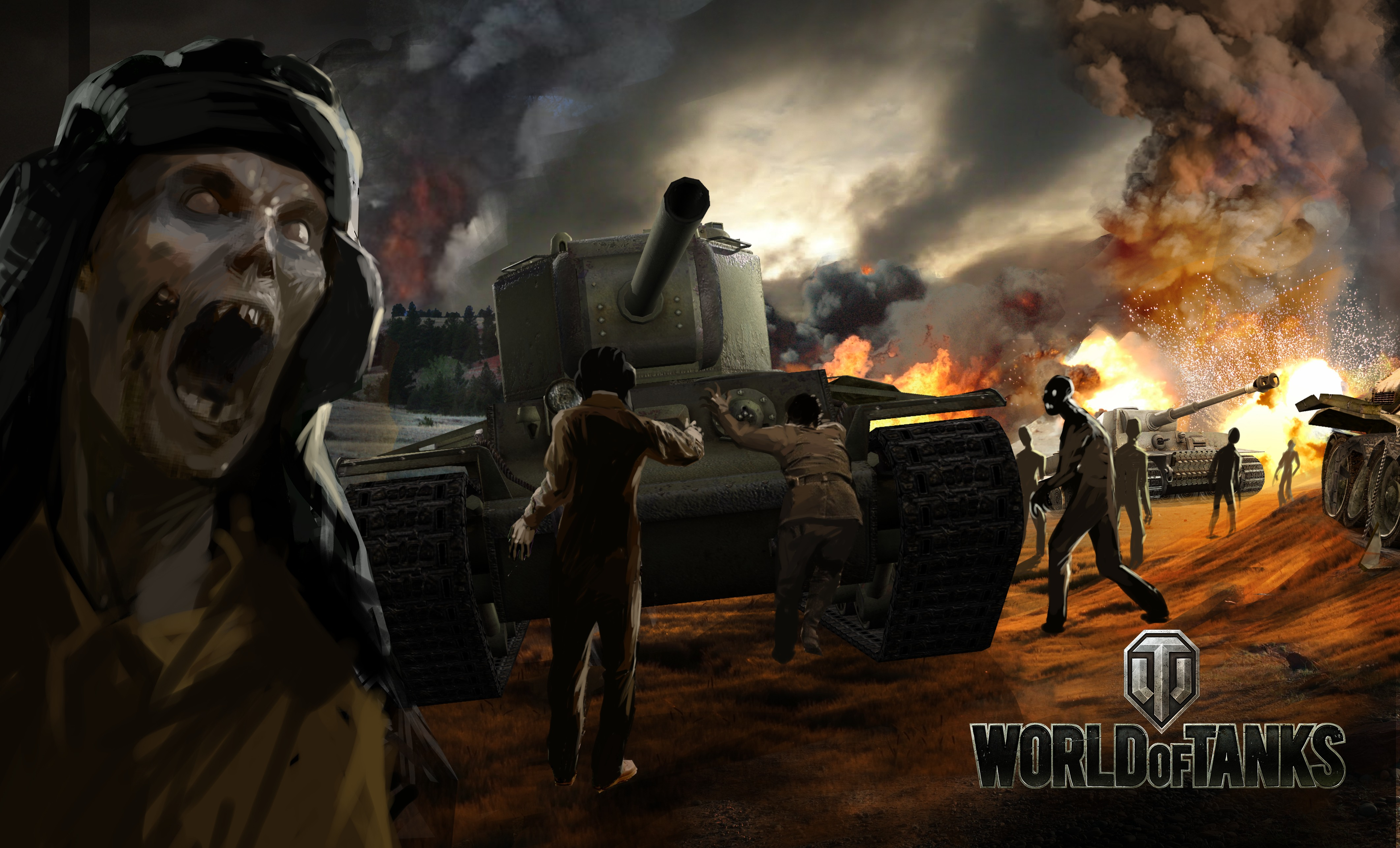 Zombies to Swarm World of Tanks 4